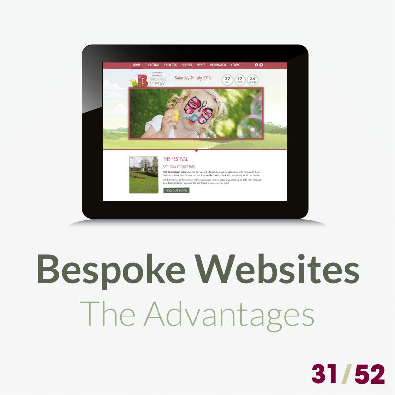 31 bespoke websites