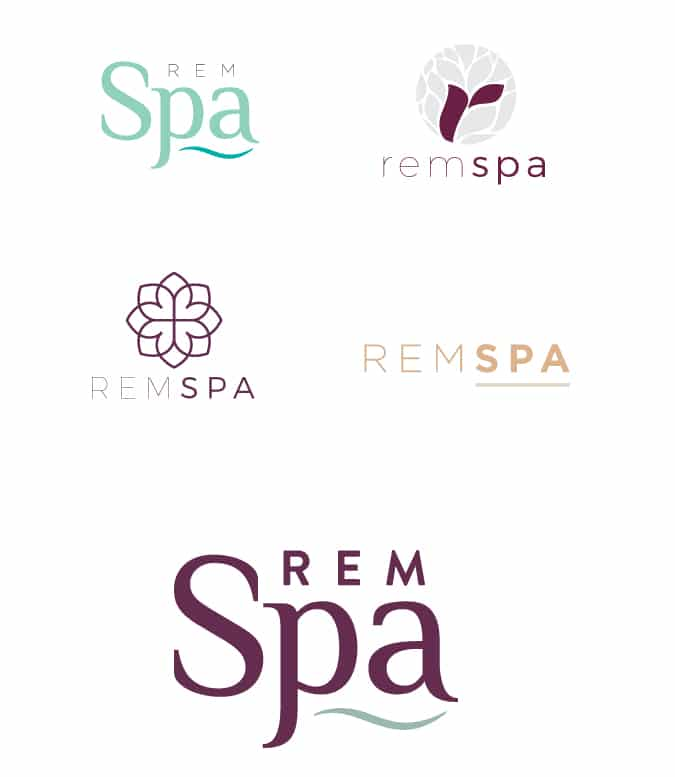 rem logo brand