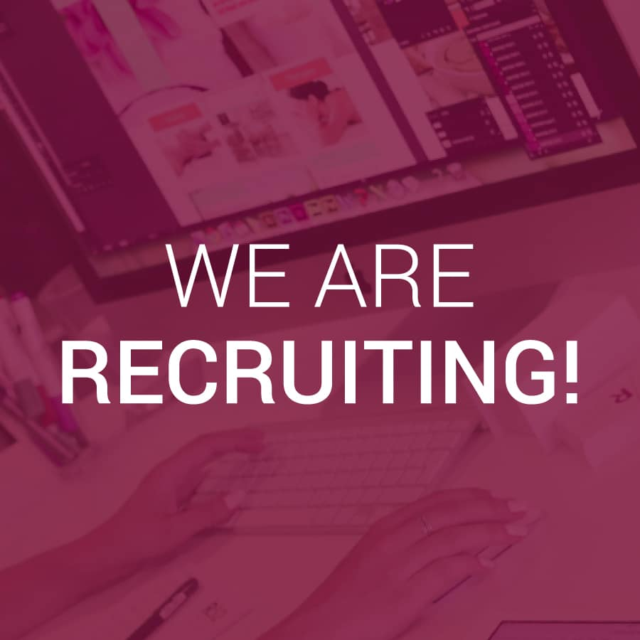 Our Work View Our Digital Print Web Projects: We Are Recruiting